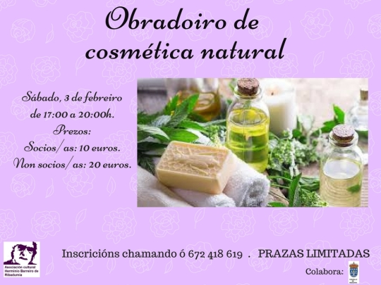 obradoiro de elaboración de perfumes e aceites esenciais