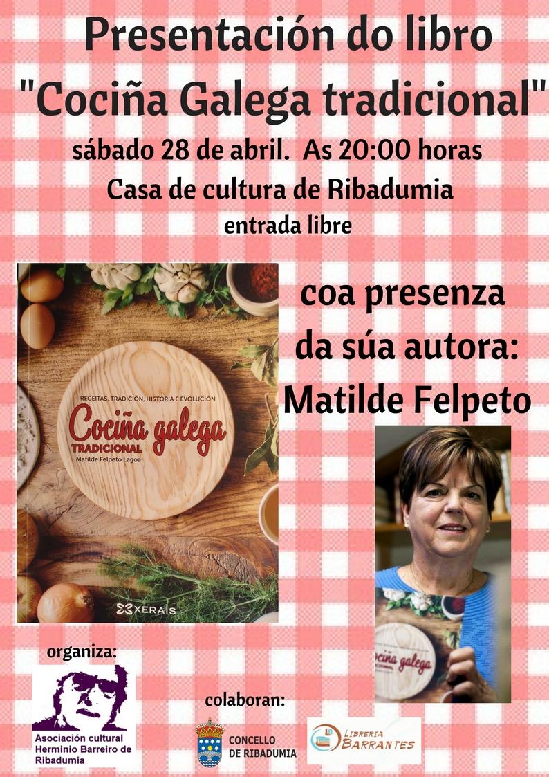 presentación do libro Cociña Galega tradicional