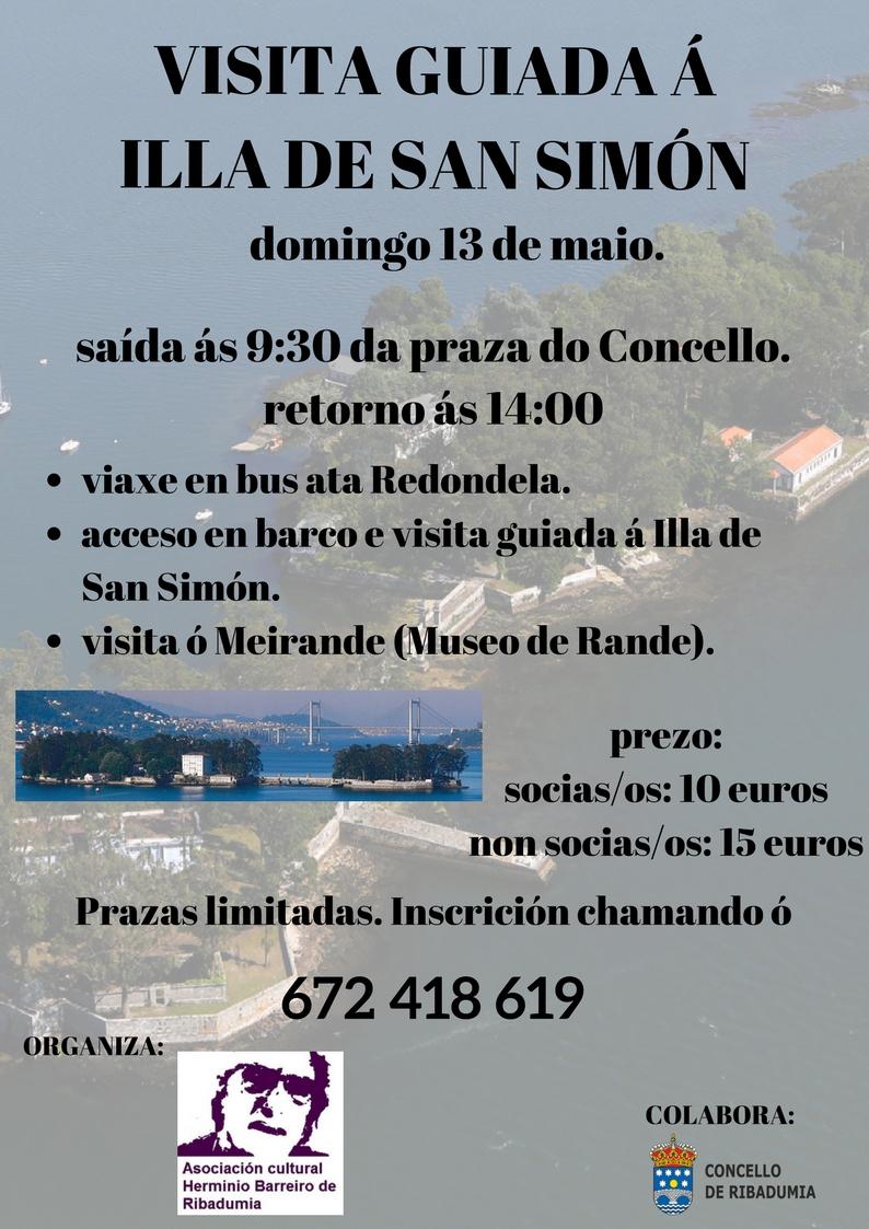 visita guiada a illa de San Simón (1)
