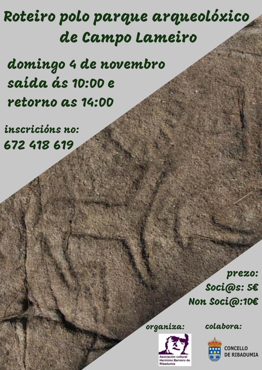 Roteiro polo parque arqueolóxico de Campo Lameiro