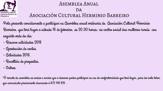 Asemblea Anual da Asociación Herminio Barreiro (1)